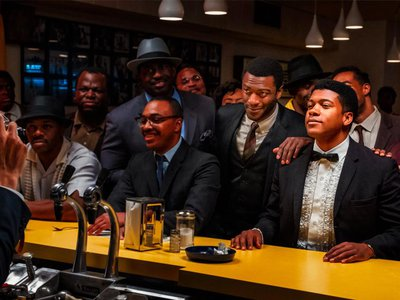 The film fictionalizes the night that Cassius Clay (seated, wearing a bow tie) became the world's heavyweight boxing champion. Three of his friends—Malcolm X (holding a camera at far left), Jim Brown (standing with his hand on Clay's shoulder) and Sam Cooke (raising a glass to the right of Clay)—joined the young athlete for a post-fight celebration.