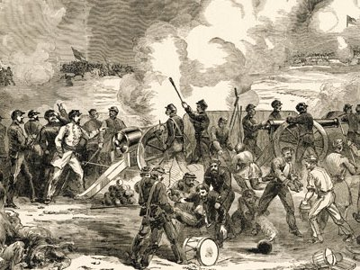 Union generals lost a week long siege of Lexington, Missouri, shown here, but took control of Ship Island, off Mississippi's coast.