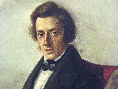Chopin at 25, by his fiancée Maria Wodzińska.