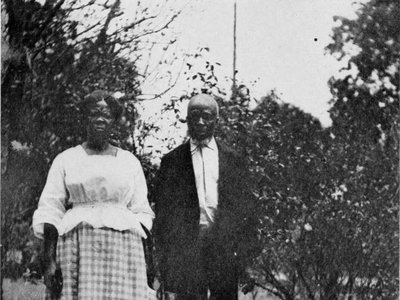The descendants of Cudjo Lewis and Abache (above) heard stories of the ship that tore their ancestors from their homeland and now the wreck of the Clotilda has been confirmed to be found in Alabama's Mobile River.