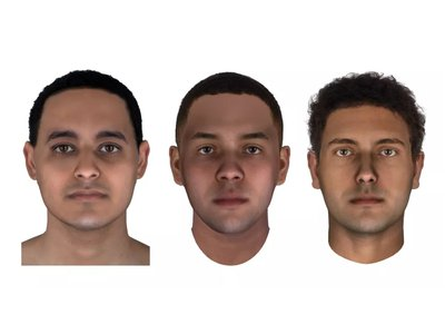 Scientists used DNA analysis of mummies from ancient Egypt to reconstruct the faces of three men buried more than 2,000 years ago.