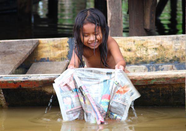 Wet news - slums of Iquitos Peru thumbnail