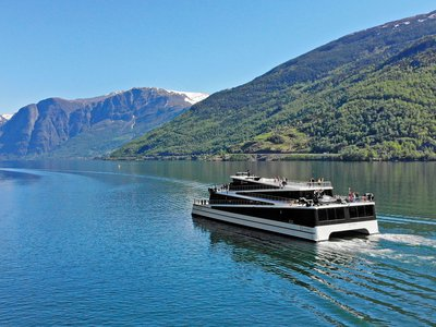 Norway's latest ships, including the passenger vessel Future of the Fjords, may portend the end of carbon-belching vessels. Of the 60 or so fully electric or hybrid vessels in operation globally, 40 percent are Norwegian.