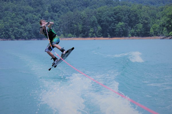 This is my Nephew water skiing at Norris Lake thumbnail