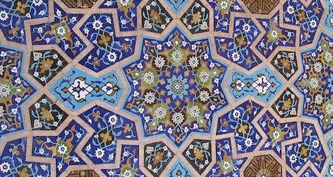 Tile art in Iran