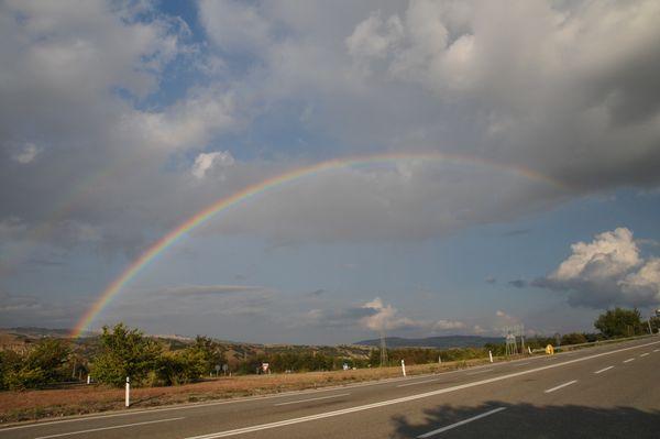 Rainbow in the sky of Puglia thumbnail