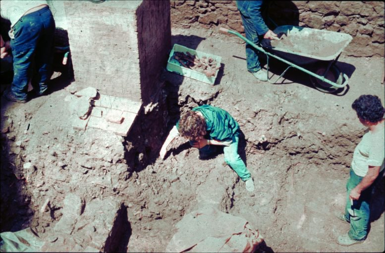Graves excavation