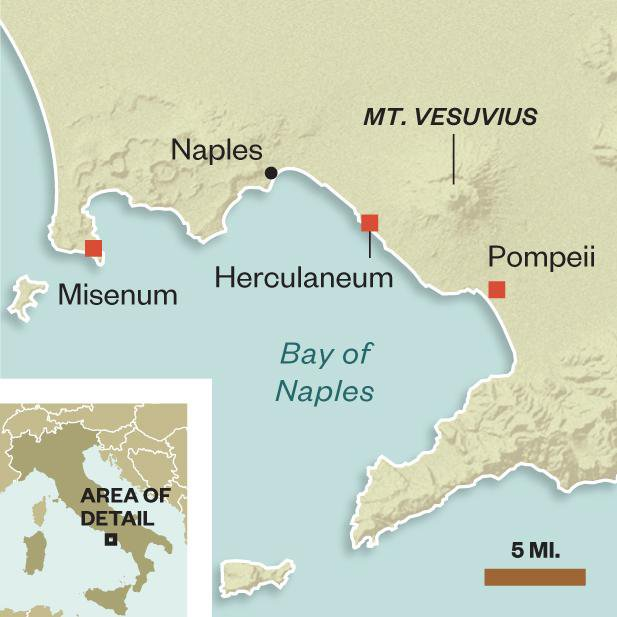 The Fall and Rise and Fall of Pompeii