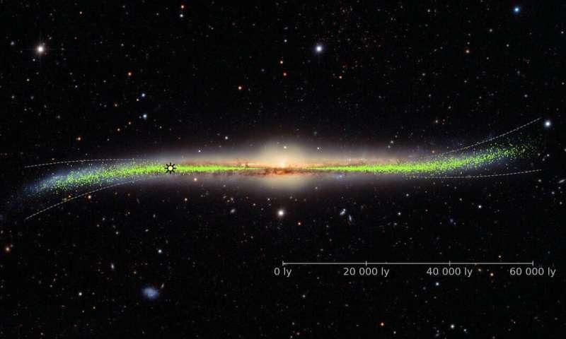 New 3-D Map Shows Milky Way's Big Twist