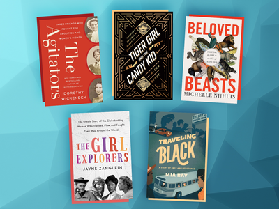 This month's picks include The Agitators, Beloved Beasts, and Tiger Girl and the Candy Kid.