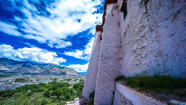The Wall of Potala Palace thumbnail