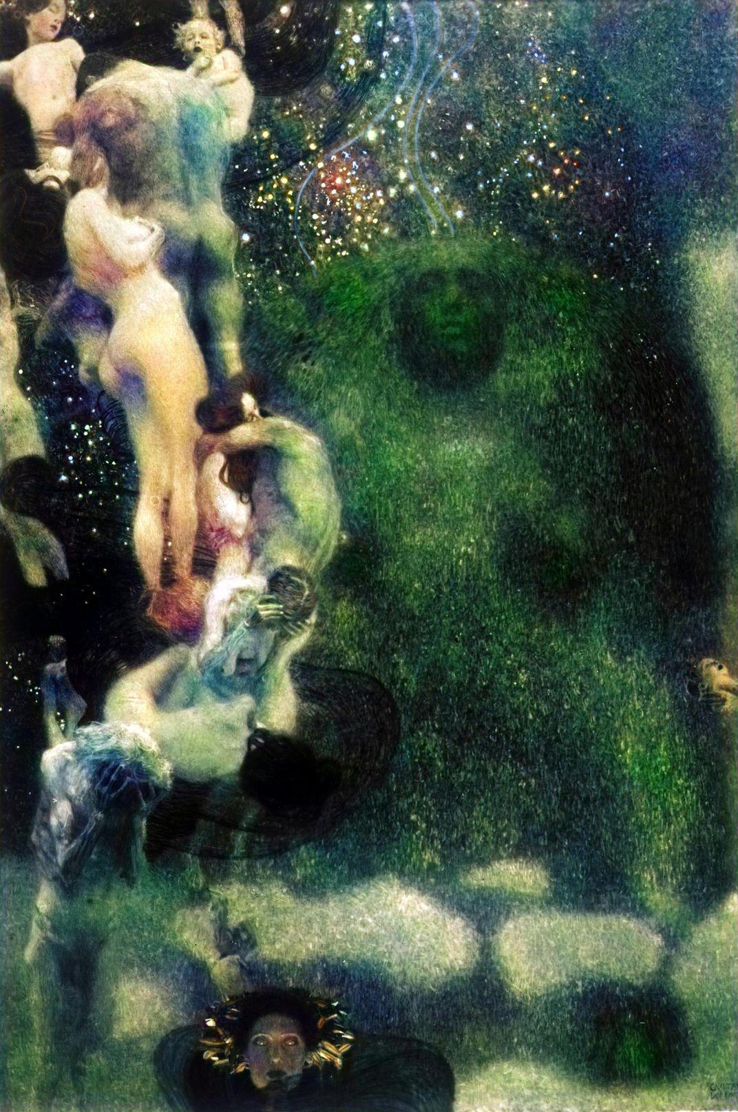 A.I. Digitally Resurrects Trio of Lost Gustav Klimt Paintings