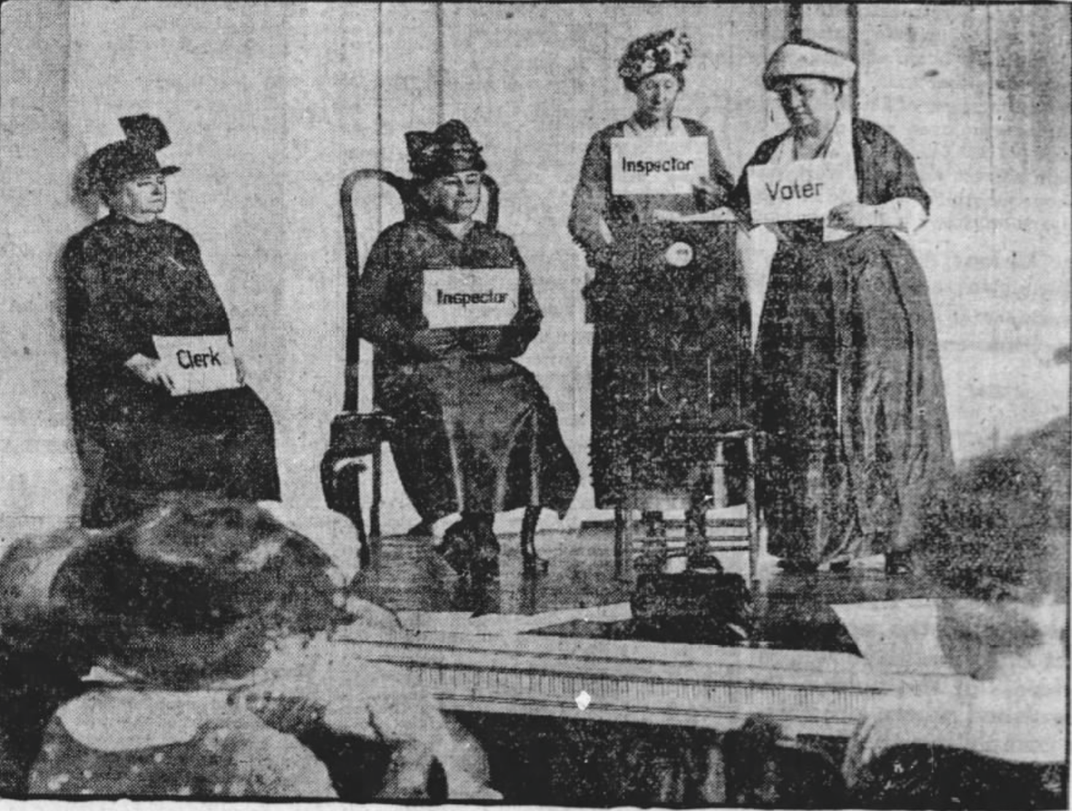 What the First Women Voters Experienced When Registering for the 1920 Election
