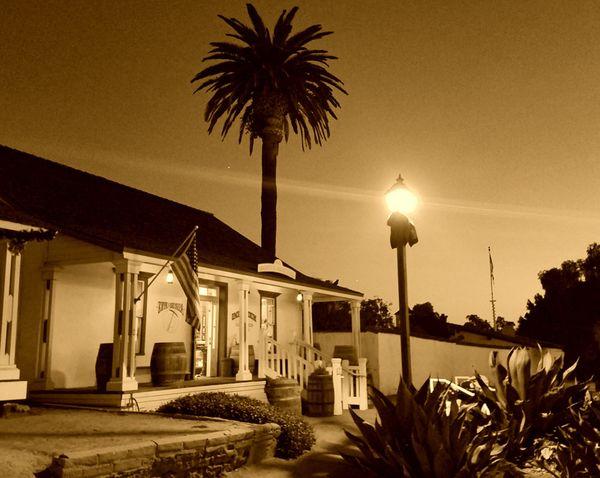 Old Town San Diego, California in Sepiatone  thumbnail