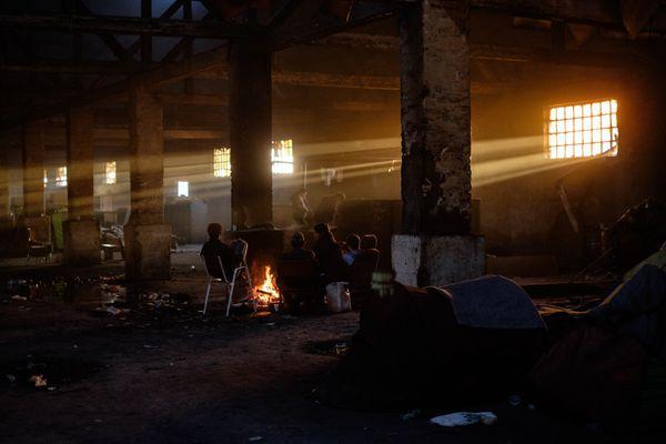A refugee camp in Belgrade thumbnail