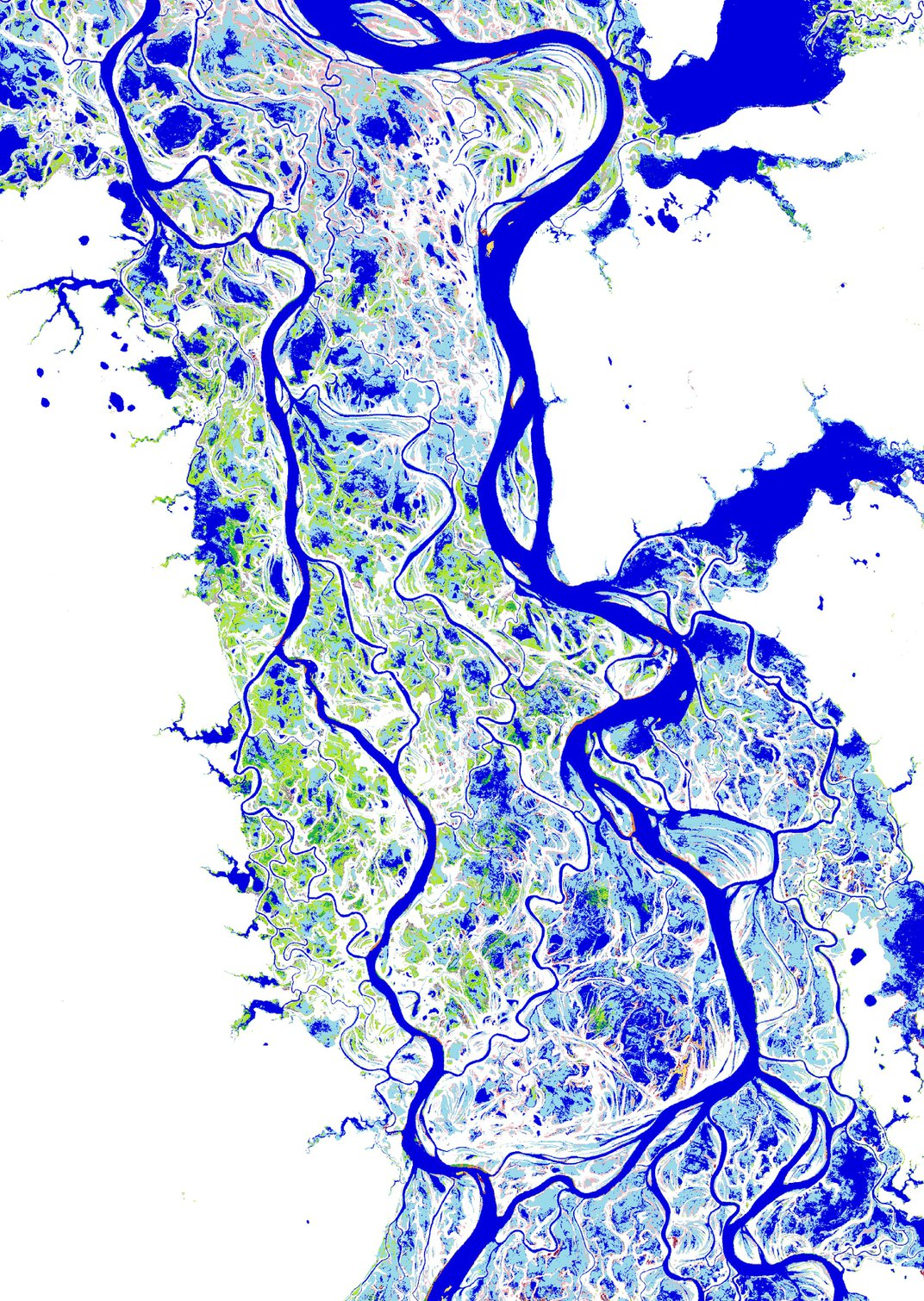 High-Resolution Satellite Images Capture Stunning View of Earth's Changing Waters