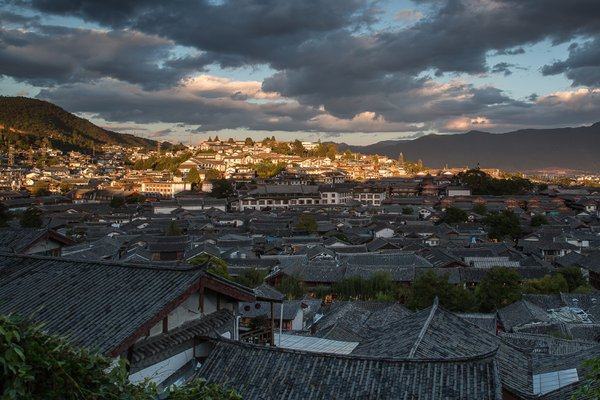 Lijiang Old Town in Sunset thumbnail