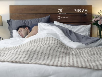 """This """"smart"""" mattress cover can track sleep patterns along with respiration and heart rates."""