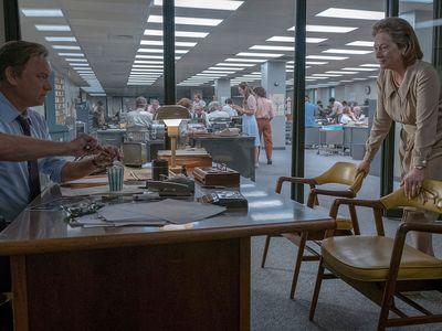 "Meryl Streep and Tom Hanks in ""The Post."""