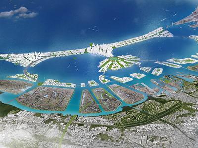 "The ""Great Garuda"" seawall will be shaped like Indonesia's national symbol—a mythical, birdlike creature."