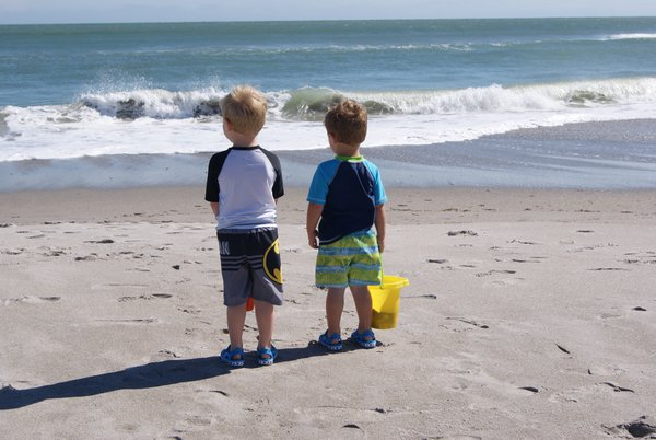 Boys at the Beach thumbnail