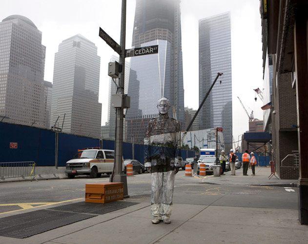 Hiding in New York No. 4 - Ground Zero, 2011