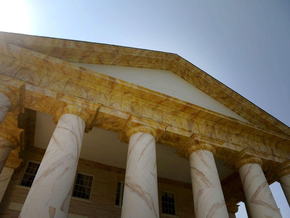 View of Arlington House, former home of Robert E. Lee