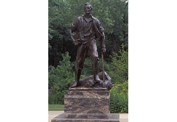 'Hot Lincoln' Stands in Long Line of Attractive Presidential Sculpture