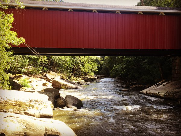 Covered Bridge at McConnells Mill thumbnail