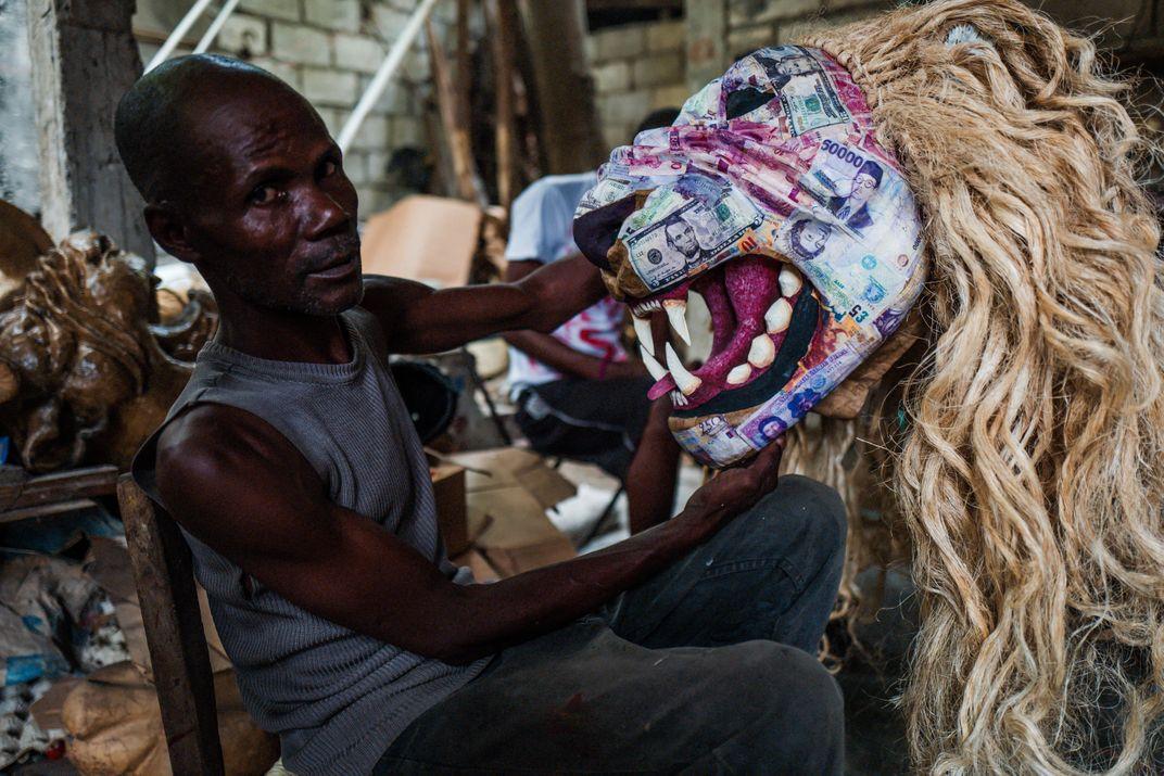 A Photographer Captures Papier-Mâché and Politics on Parade in Haiti's Jacmel