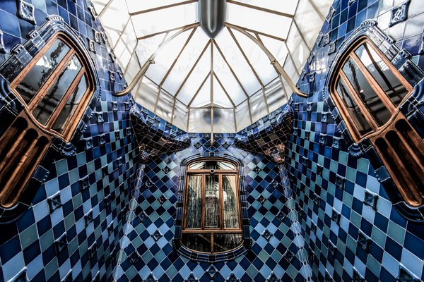 Inside of Gaudi's Casa Batllo in Barcelona thumbnail
