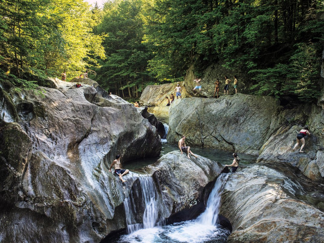 The Sublime Sensation of the Swimming Hole