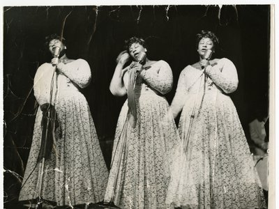 April 25, 2017, marks the centennial birthday of Ella Fitzgerald (above, in a triple-exposure undated photograph).
