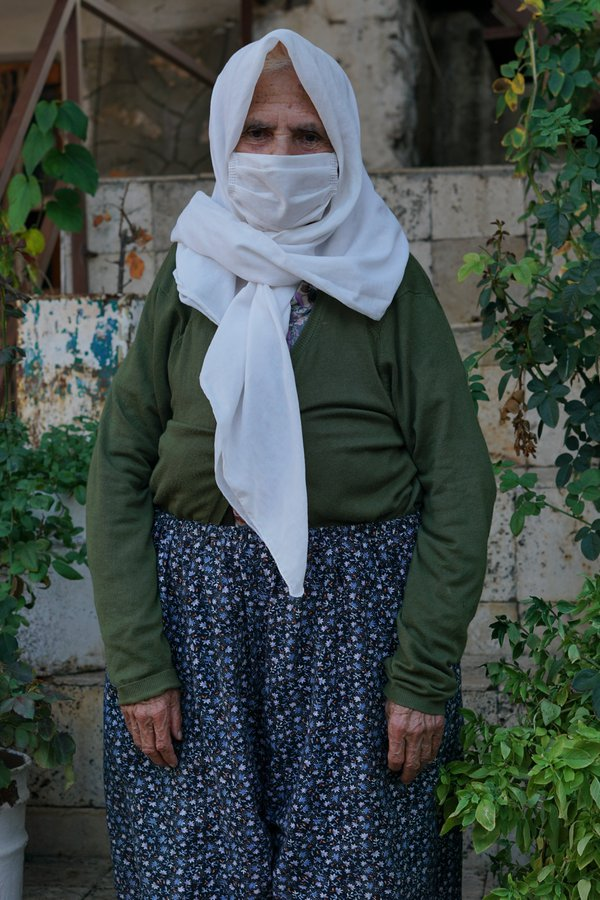 An old woman in the town of Kas thumbnail