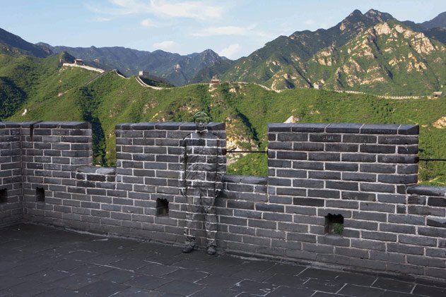 """""""Hiding in the City No. 91 - Great Wall,"""" 2010"""