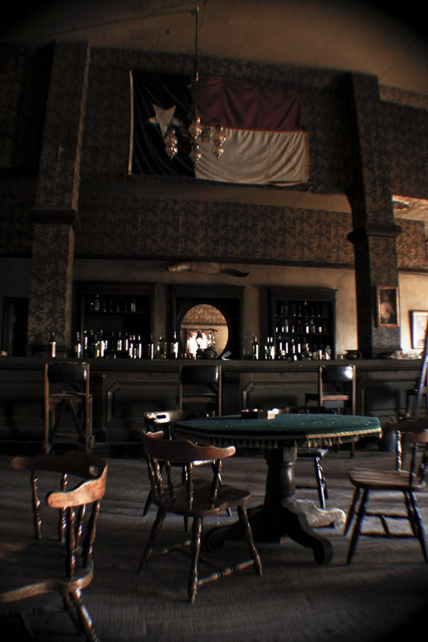 """""""Old West"""" style saloon in New Mexico thumbnail"""
