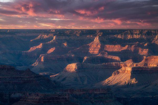 Last light at Grand Canyon thumbnail
