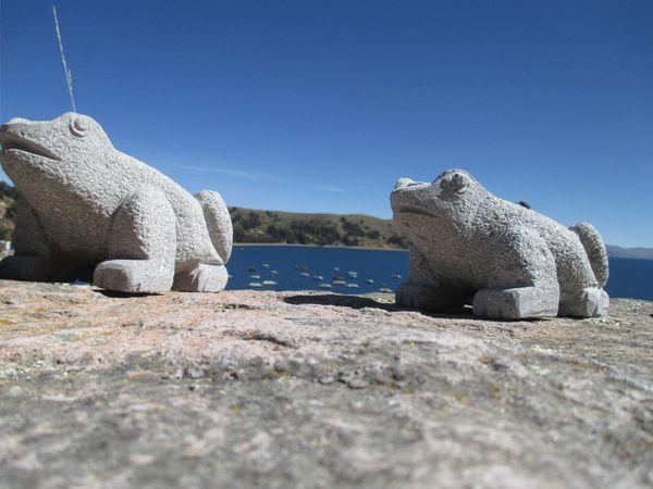 Glimpse of Lake Titicaca thumbnail