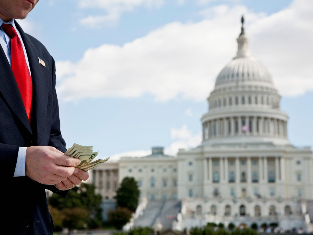 congressman with money