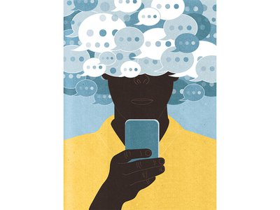 Texting is blamed for ruining personal discourse and common courtesy.