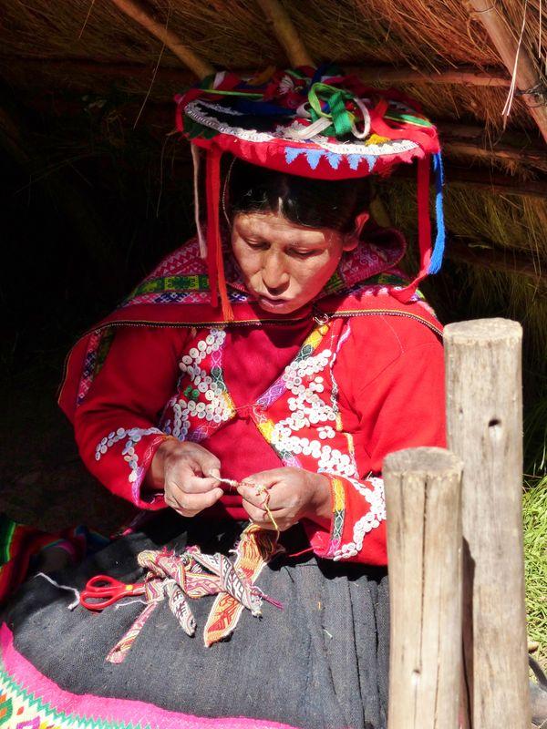 Weaver in Peru thumbnail