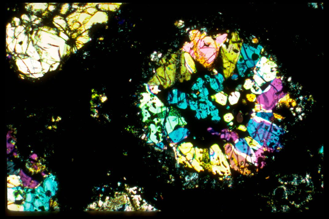 The Oldest Material in the Smithsonian Institution Came From Outer Space