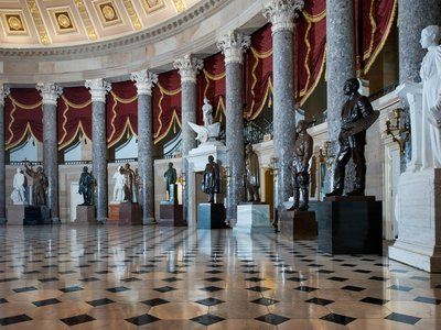 The Old House Chamber has been used as National Statuary Hall since July 1864.