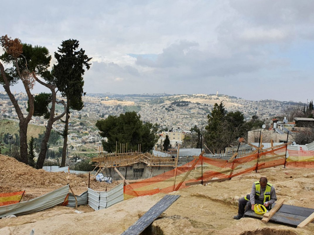 2,700-Year-Old Private Toilet Found in Jerusalem