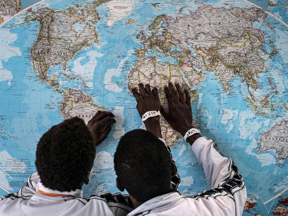 Lone Children Migrants