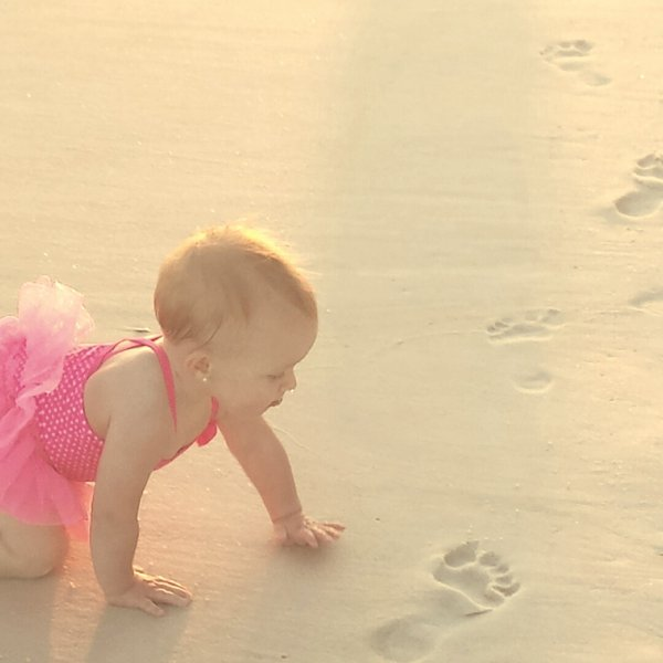 Baby's First Trip to the Beach thumbnail