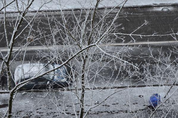 Fresh Snow on the Street, St.-Petersburg, Russia thumbnail
