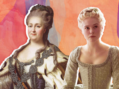 """Elle Fanning portrays the eponymous empress in Hulu's """"The Great."""""""