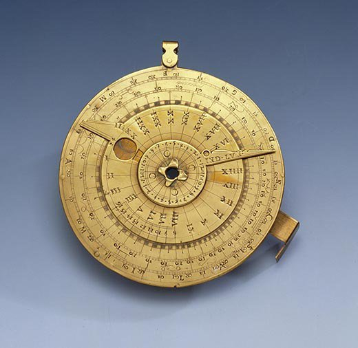 Galileo nocturnal and horary disk