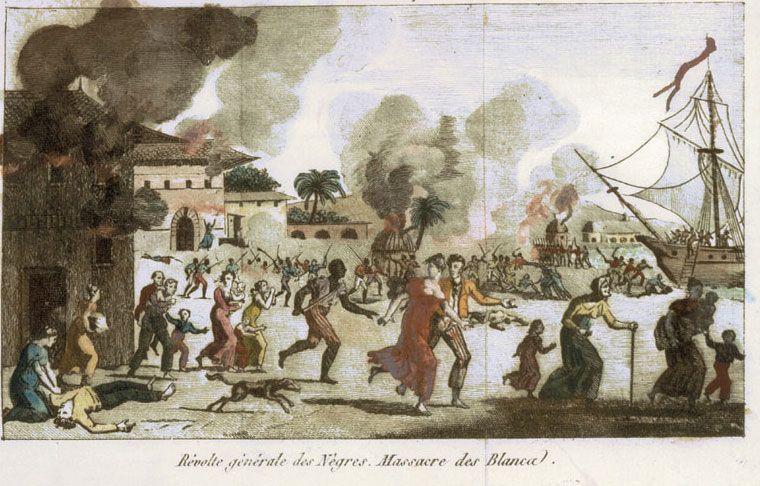 Slave revolt Haiti